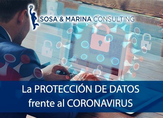 Protección de datos frente al coronavirus